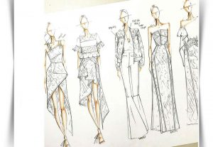 انواع دوخت در طراحی لباس